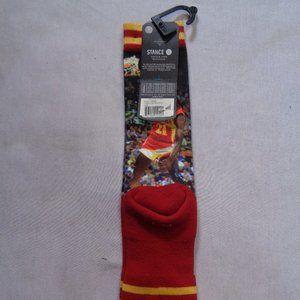 Stance Underwear & Socks - Atlanta Hawks Dominique Wilkins socks L/XL Adults